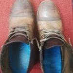 グレンソンの革靴紐を交換!100均→ABCマートはしご!靴裏ソール対策【画像】